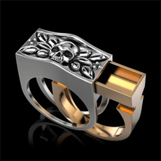 Sterling, hip hop jewelry, gold, Men