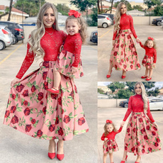 girls dress, Fashion, pleated dress, Lace