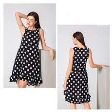 Summer, Fashion, Halter, Dress
