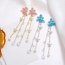 Tassels, Jewelry, Stud Earring, netred