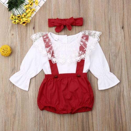 suspenders, babychristmasoutfit, Fashion, ruffle