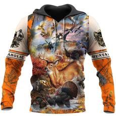 3D hoodies, Fashion, Hoodies, Hunting