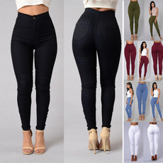 pencil, Leggings, trousers, high waist