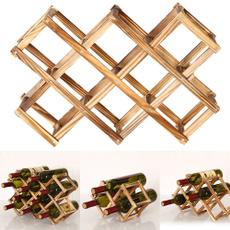 Bar, Home Decor, bottleholder, Wooden