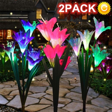 solarflowerlight, Night Light, Waterproof, Led Lighting