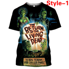 Summer, Funny T Shirt, Horror, Жіноча мода