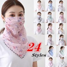 mouthfloralscarf, womenmask, mouthmask, chiffon