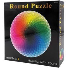 rainbow, Jigsaw, 1000piecepuzzle, jigsawpuzzleforadult