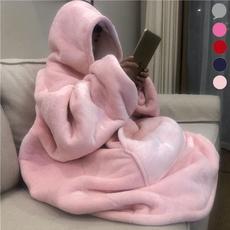 hugglehoodieblanket, Fashion, hooededcoat, Blanket