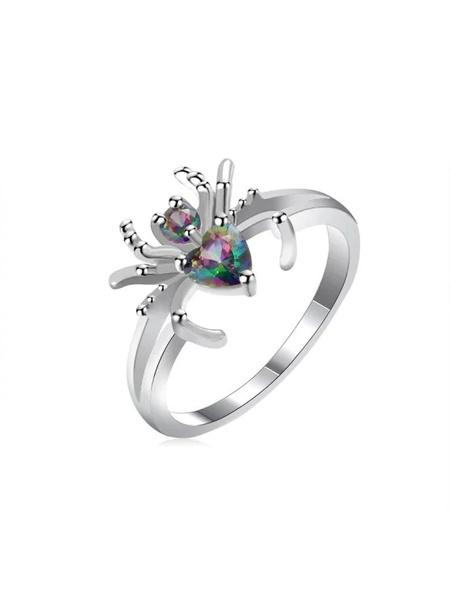 Sterling, wedding ring, Sterling Silver Ring, Diamond Ring