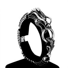 Steel, Wristbands, Ethnic Style, Metal