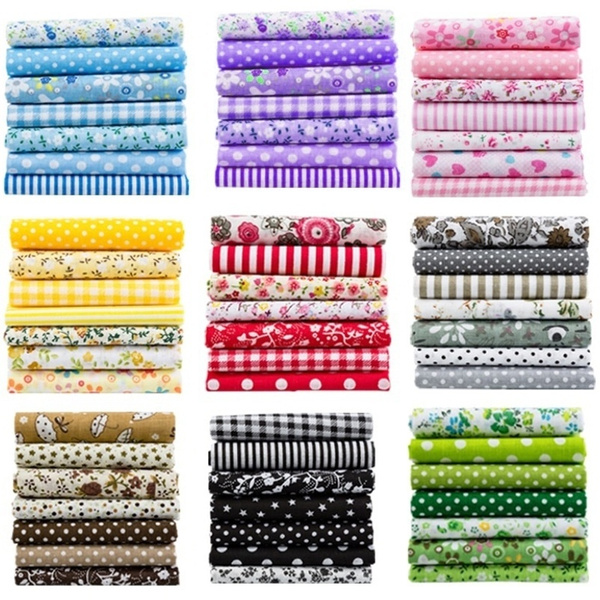 Cotton fabric, fabricpatchwork, Home & Living, squarefabric