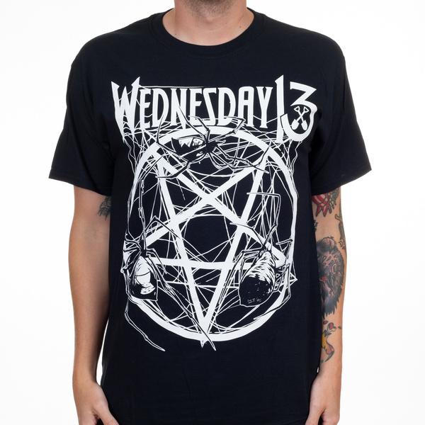 Funny T Shirt, wednesday13spiderpentagramtshirt, #fashion #tshirt, pentagram