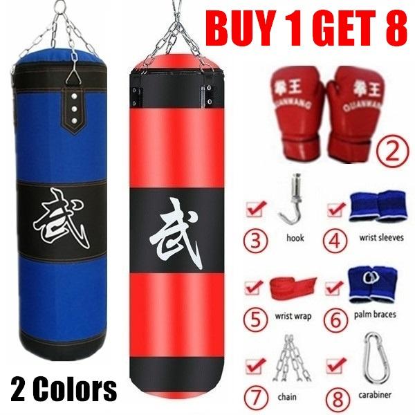 Boxing Bag MMA Training Punching Bag Training Empty Sandbag Workout Indoor Sport