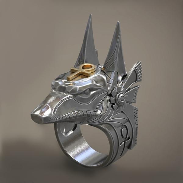 Sterling, Head, Stainless Steel, 925 silver rings
