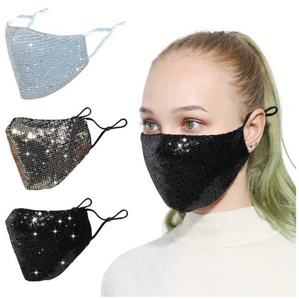 cottonfacemask, fashionfacemask, sequinedfacemask, warmfacemask