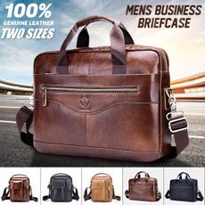 Briefcase, business bag, leather, Vintage
