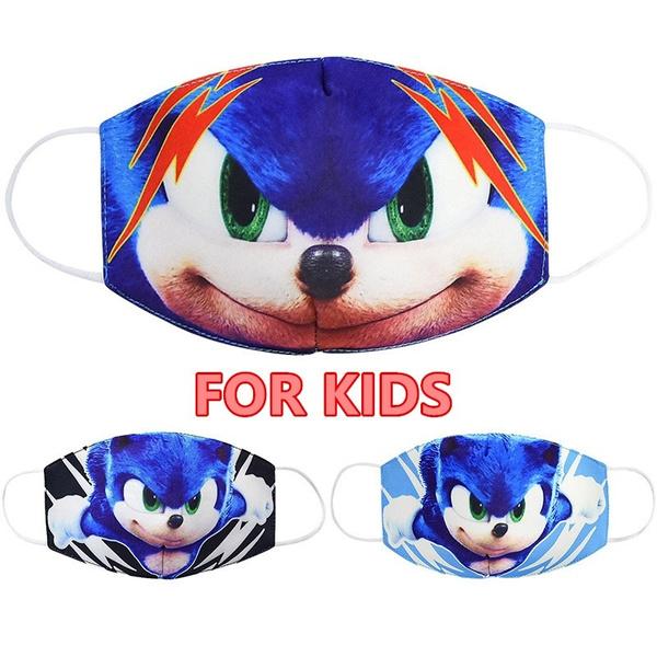 kids, Funny, sonicthehedgehogmask, Outdoor