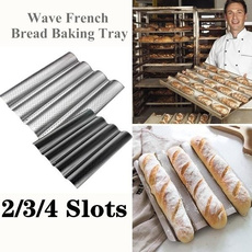 baguette, Cooking, Baking, baguettepan