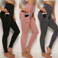 Leggings, Sport, Yoga, Elastic