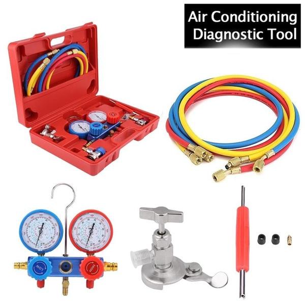 airconditionermanifoldgauge, r12r22, Hobbies, acmanifoldgauge