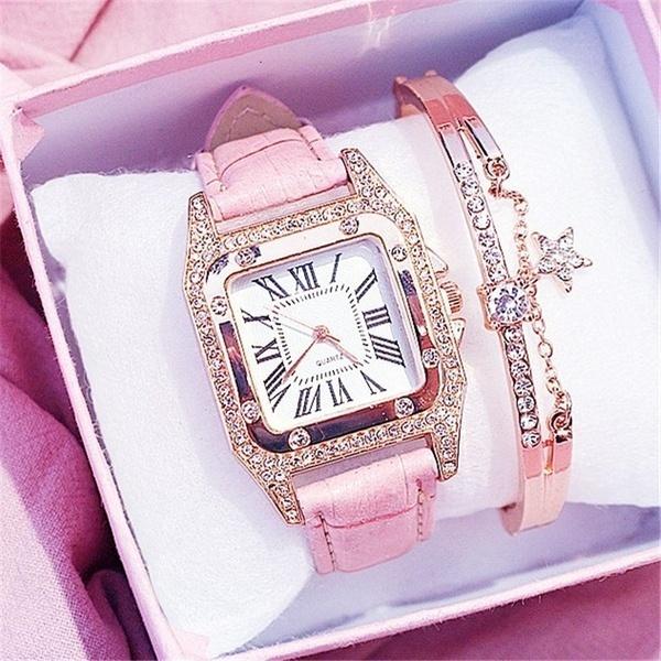 quartz, Jewelry, Clock, leather