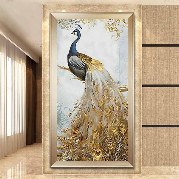 peacock, DIAMOND, Jewelry, alivingroom