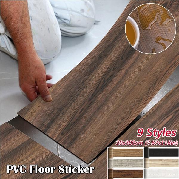 woodgrainfloor, PVC wall stickers, Decor, wallpapersticker