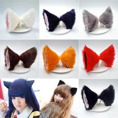 hairdecoration, Cosplay, fur, Hair Pins