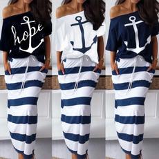 Summer, long skirt, Two-Piece Suits, 2 piece dress sets