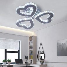 Heart, crystal pendant, Fashion, led