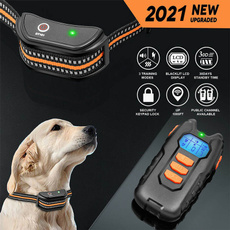 Rechargeable, Dog Collar, Electric, Waterproof