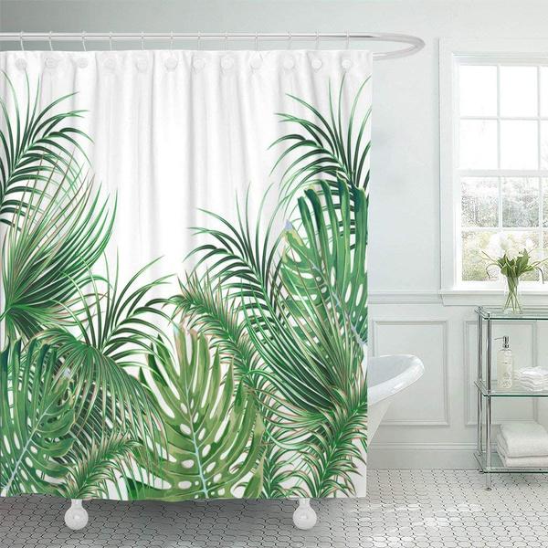 leaves, leaf, Shower, Waterproof