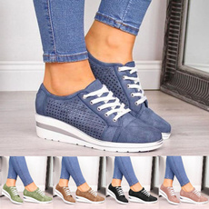 casual shoes, Sneakers, Plus Size, Lace
