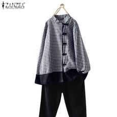 plaid shirt, blouse, plaid, Shirt