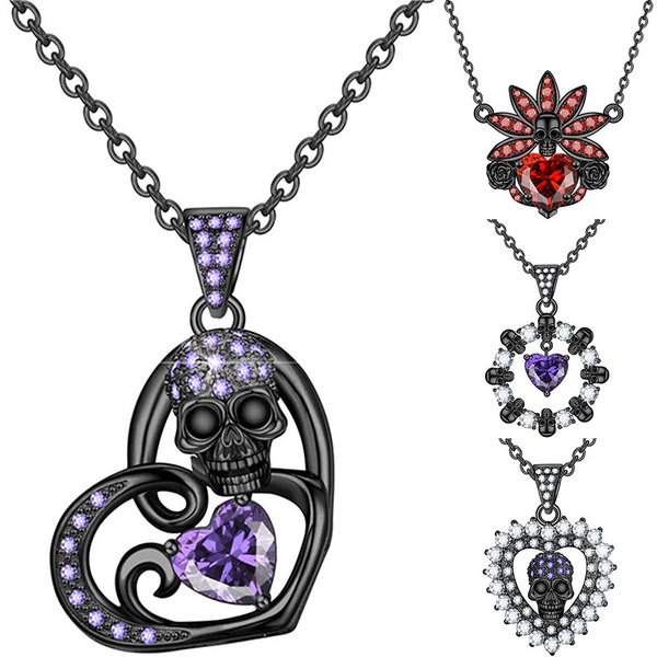 Cubic Zirconia, Heart, Head, Jewelry