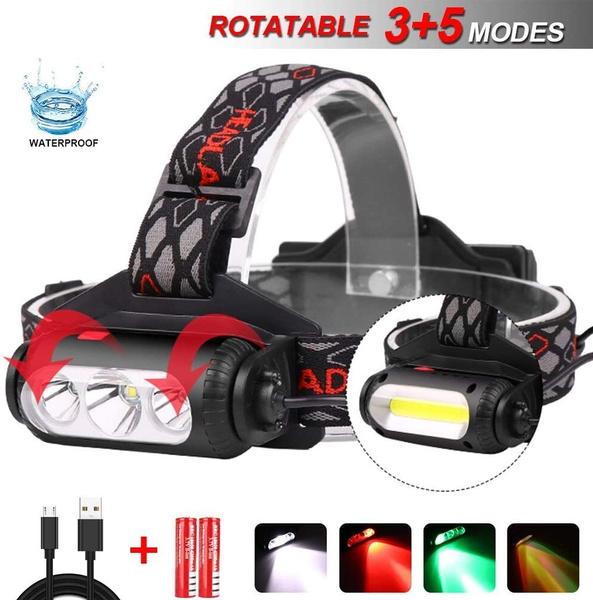 Flashlight, cobworklight, Adjustable, led