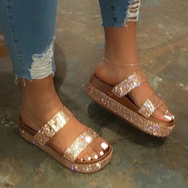 wildslipper, wedge, Sandals, Platform Shoes