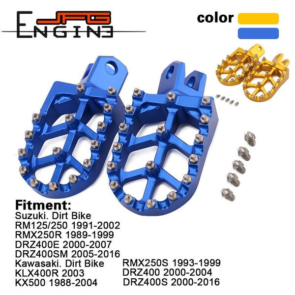 rm250, Kawasaki, footpedal, drz400