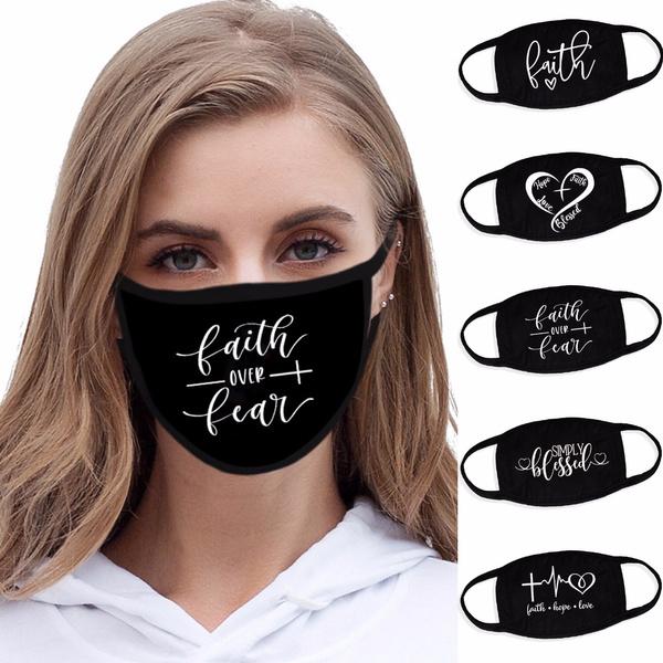 faith, Cotton, Fashion, dustmask