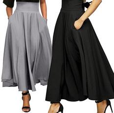 long skirt, Fashion, Waist, Bottom
