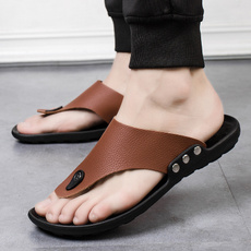 beach shoes, Flip Flops, Sandals, brown
