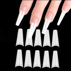 nail decoration, ballerina, uv, nail tips