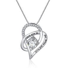 Heart, Love, Jewelry, Simple