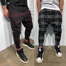plaid, slack, Casual pants, Bottom