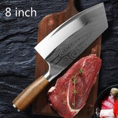 Steel, Stainless, Kitchen & Dining, damascusknife