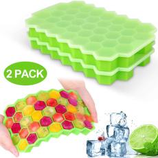 Box, Ice, Silicone, icecubetray