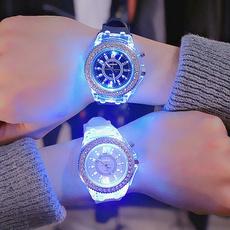 LED Watch, quartz, silicone watch, christmaspresent