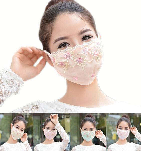 Summer, uv, Lace, printedmask