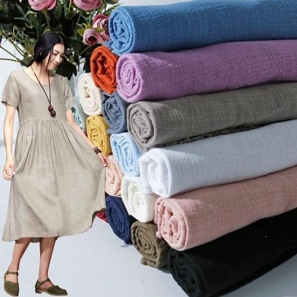 Cotton fabric, moistureabsorptionlinencloth, diylinencloth, Flax